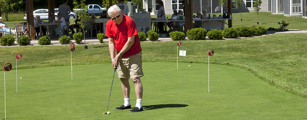 Golfing Retirement Community Saratoga Springs NY