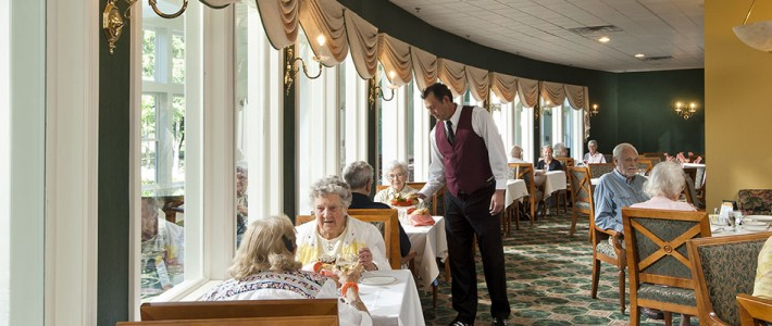 Fine Dining At Prestwick Chase Prestwick Chase At Saratoga Senior Living