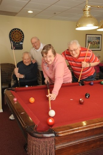 Billiards At Prestwick Chase Retirement Living Saratoga Ny