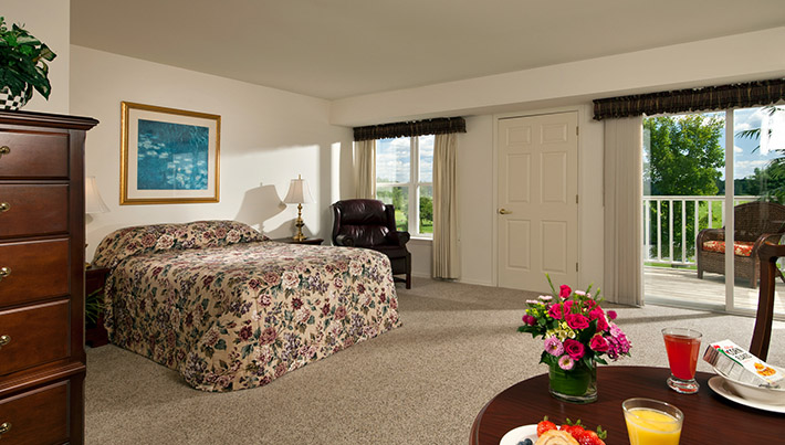 guest suites retirement community Saratoga Springs NY