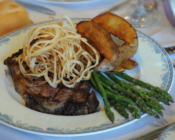 Steak Dinner - Prestwick Chase at Saratoga - Senior Living ...