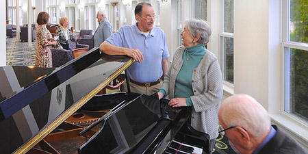 senior activities Saratoga Springs