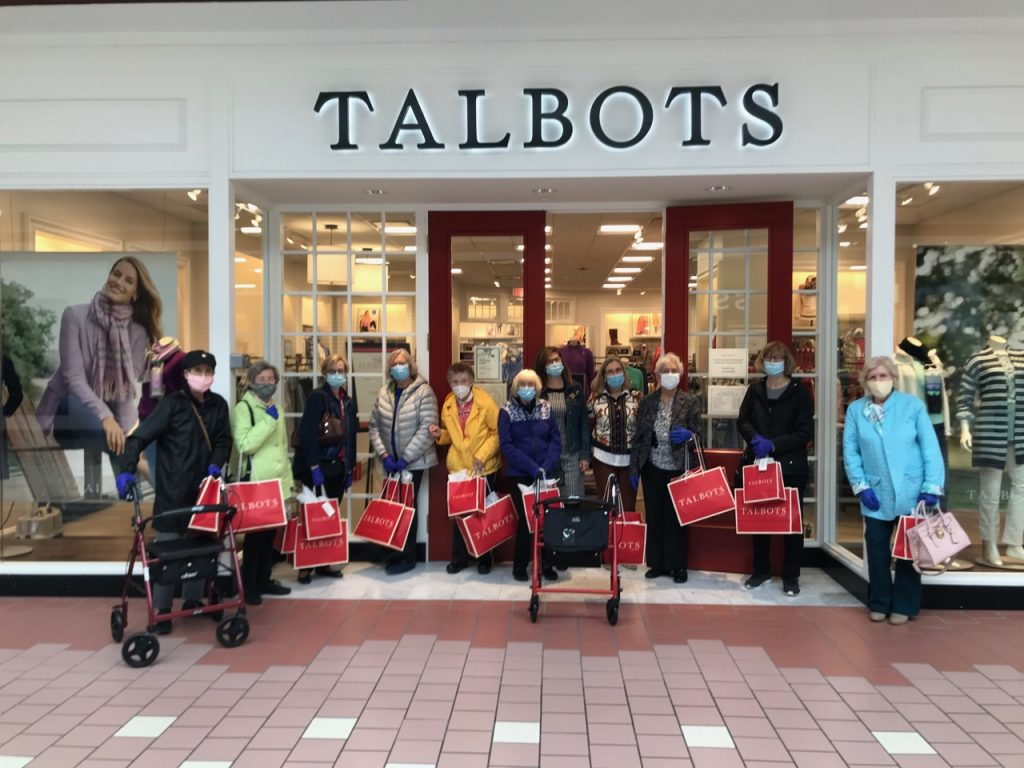Residents on shopping trip to Talbots